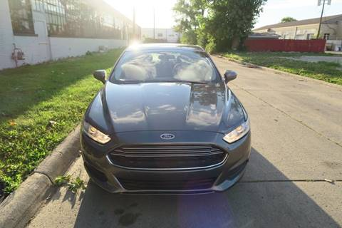 2014 Ford Fusion for sale at Dymix Used Autos & Luxury Cars Inc in Detroit MI