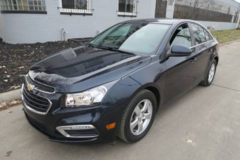 2015 Chevrolet Cruze for sale at Dymix Used Autos & Luxury Cars Inc in Detroit MI