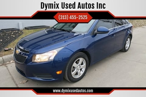 2013 Chevrolet Cruze for sale at Dymix Used Autos & Luxury Cars Inc in Detroit MI