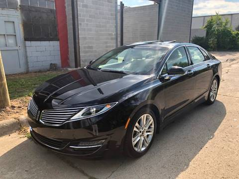 2014 Lincoln MKZ for sale at Dymix Used Autos & Luxury Cars Inc in Detroit MI