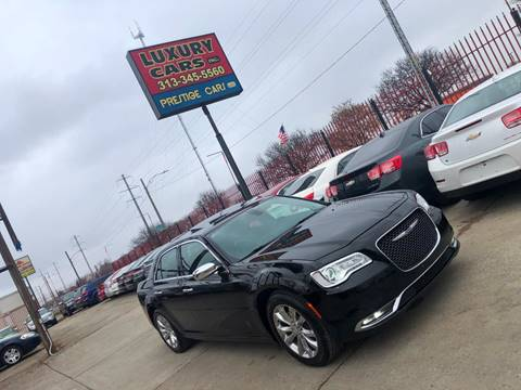 2016 Chrysler 300 for sale at Dymix Used Autos & Luxury Cars Inc in Detroit MI