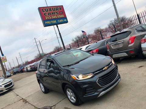 2018 Chevrolet Trax for sale at Dymix Used Autos & Luxury Cars Inc in Detroit MI
