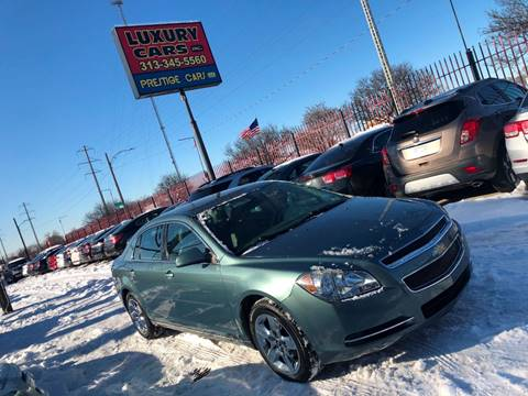 2009 Chevrolet Malibu for sale at Dymix Used Autos & Luxury Cars Inc in Detroit MI