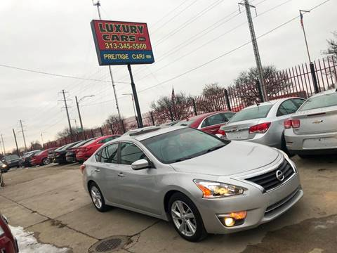 2013 Nissan Altima for sale at Dymix Used Autos & Luxury Cars Inc in Detroit MI