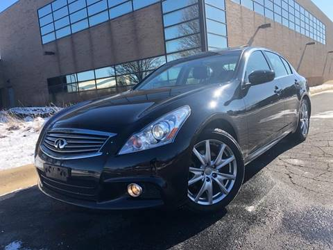 2012 Infiniti G37 Sedan for sale at Dymix Used Autos & Luxury Cars Inc in Detroit MI