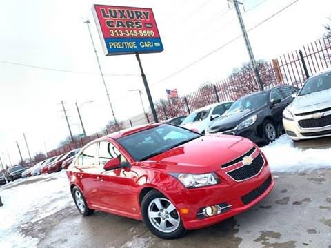 2012 Chevrolet Cruze for sale at Dymix Used Autos & Luxury Cars Inc in Detroit MI