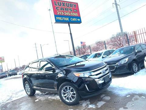 2014 Ford Edge SEL for sale at Dymix Used Autos & Luxury Cars Inc in Detroit MI