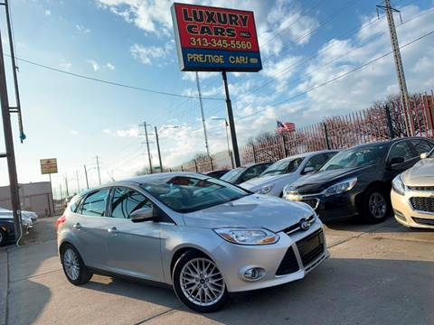 2012 Ford Focus SEL for sale at Dymix Used Autos & Luxury Cars Inc in Detroit MI