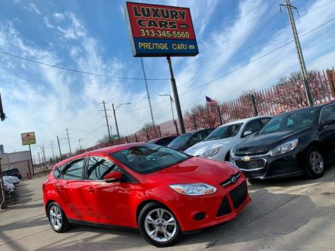 2014 Ford Focus SE for sale at Dymix Used Autos & Luxury Cars Inc in Detroit MI