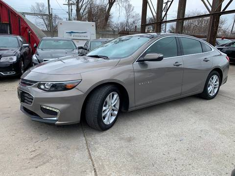 2017 Chevrolet Malibu for sale at Dymix Used Autos & Luxury Cars Inc in Detroit MI