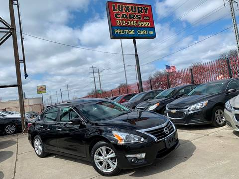 2014 Nissan Altima 2.5 SL for sale at Dymix Used Autos & Luxury Cars Inc in Detroit MI