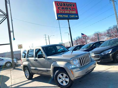 2011 Jeep Liberty Sport for sale at Dymix Used Autos & Luxury Cars Inc in Detroit MI