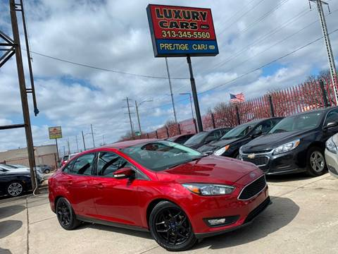2016 Ford Focus SE for sale at Dymix Used Autos & Luxury Cars Inc in Detroit MI