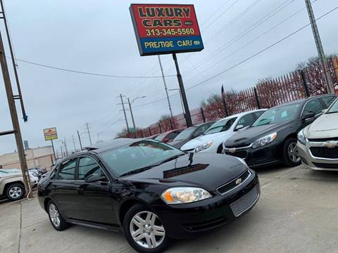 2012 Chevrolet Impala for sale at Dymix Used Autos & Luxury Cars Inc in Detroit MI
