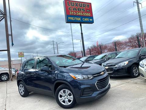 2018 Chevrolet Trax LS for sale at Dymix Used Autos & Luxury Cars Inc in Detroit MI
