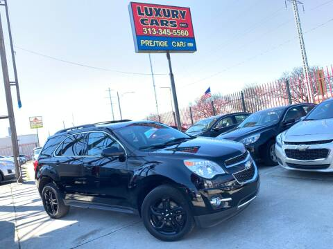 2017 Chevrolet Equinox LT for sale at Dymix Used Autos & Luxury Cars Inc in Detroit MI