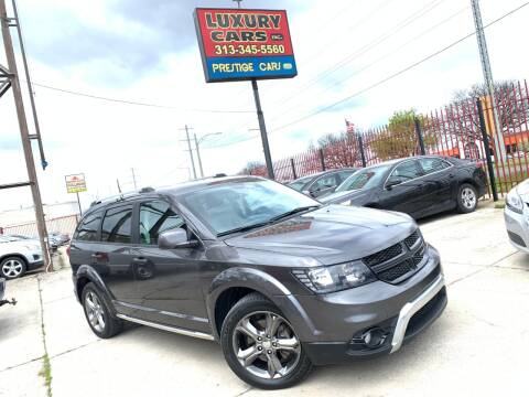 2016 Dodge Journey Crossroad Plus for sale at Dymix Used Autos & Luxury Cars Inc in Detroit MI