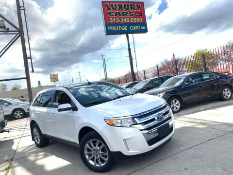 2012 Ford Edge Limited for sale at Dymix Used Autos & Luxury Cars Inc in Detroit MI