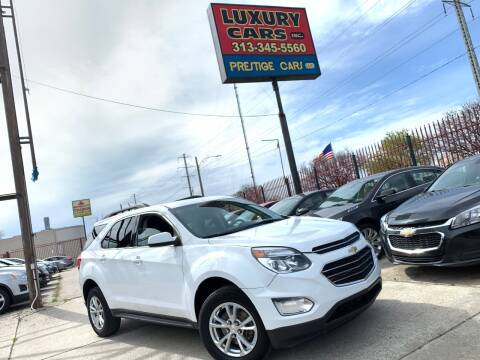 2016 Chevrolet Equinox LT for sale at Dymix Used Autos & Luxury Cars Inc in Detroit MI