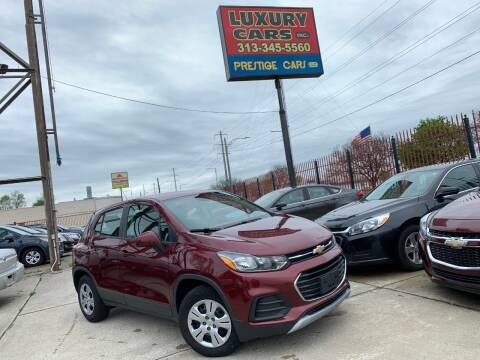 2017 Chevrolet Trax LS for sale at Dymix Used Autos & Luxury Cars Inc in Detroit MI