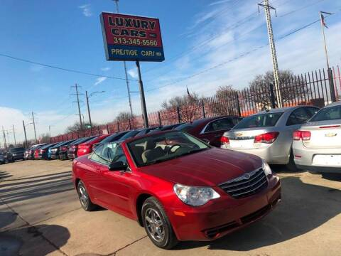 2008 Chrysler Sebring LX for sale at Dymix Used Autos & Luxury Cars Inc in Detroit MI