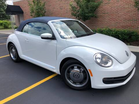 2016 Volkswagen Beetle Convertible for sale at Dymix Used Autos & Luxury Cars Inc in Detroit MI