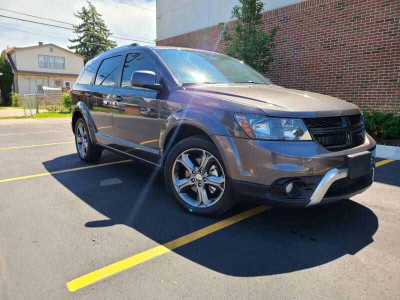 2017 Dodge Journey for sale at Dymix Used Autos & Luxury Cars Inc in Detroit MI