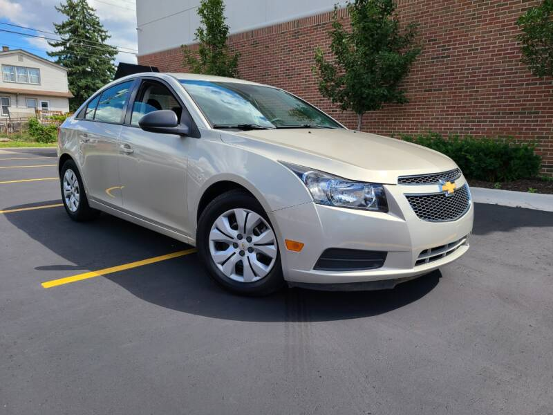 2014 Chevrolet Cruze for sale at Dymix Used Autos & Luxury Cars Inc in Detroit MI