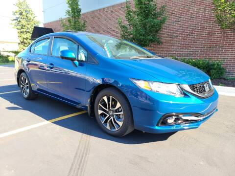 2013 Honda Civic for sale at Dymix Used Autos & Luxury Cars Inc in Detroit MI