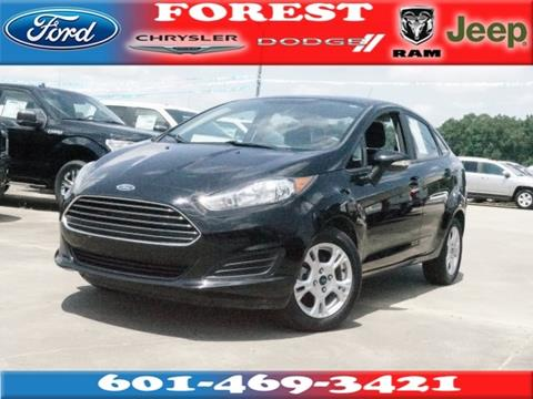 2016 Ford Fiesta for sale in Forest, MS
