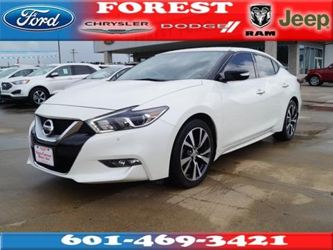 2017 Nissan Maxima for sale in Forest, MS