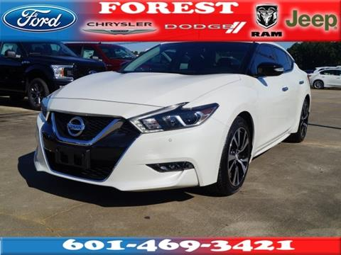 2018 Nissan Maxima for sale in Forest, MS