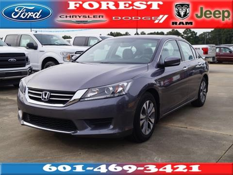 2015 Honda Accord for sale in Forest, MS