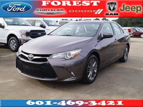 2016 Toyota Camry for sale in Forest, MS