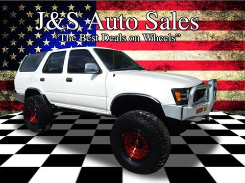 Buy Here Pay Here Clarksville Tn >> Used 1990 Toyota 4Runner For Sale in Seattle, WA ...