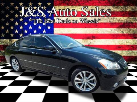 2009 Infiniti M35 for sale at J & S Auto Sales in Clarksville TN