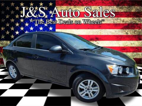 2015 Chevrolet Sonic for sale at J & S Auto Sales in Clarksville TN