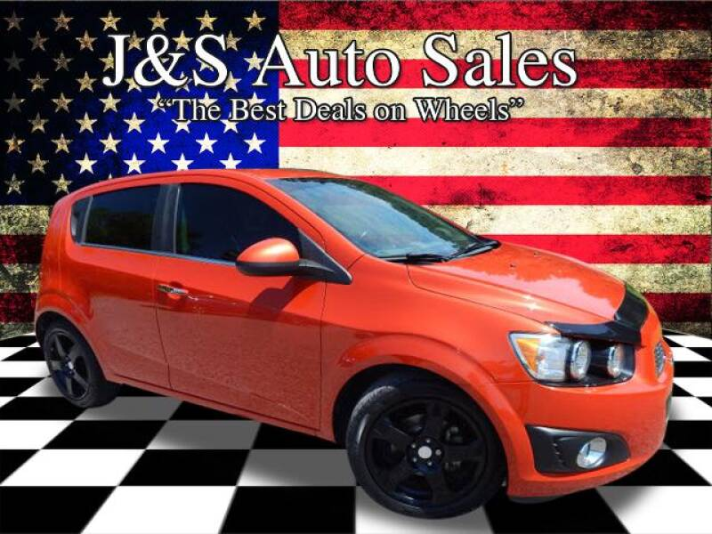 2013 Chevrolet Sonic for sale at J & S Auto Sales in Clarksville TN