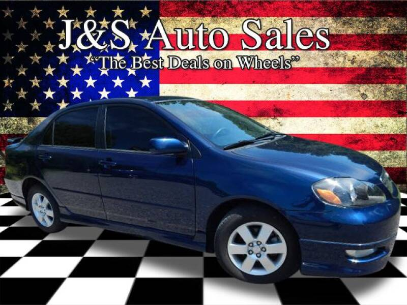 2007 Toyota Corolla for sale at J & S Auto Sales in Clarksville TN
