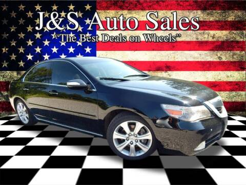 2010 Acura RL for sale at J & S Auto Sales in Clarksville TN