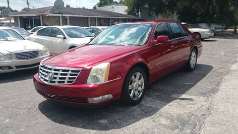 2008 Cadillac DTS for sale in Tarpon Springs, FL