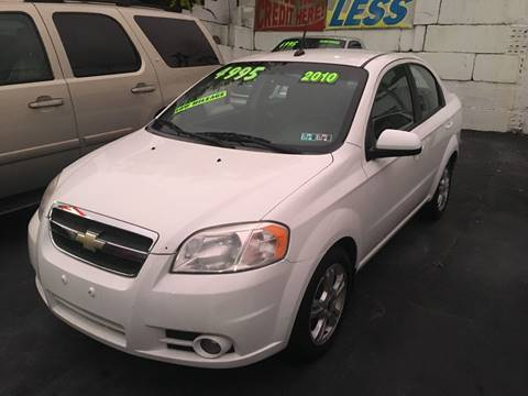 Chevrolet Aveo For Sale In Homestead Pa High Level Auto Sales Inc