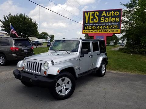2007 Jeep Wrangler Unlimited for sale in Richmond, VA