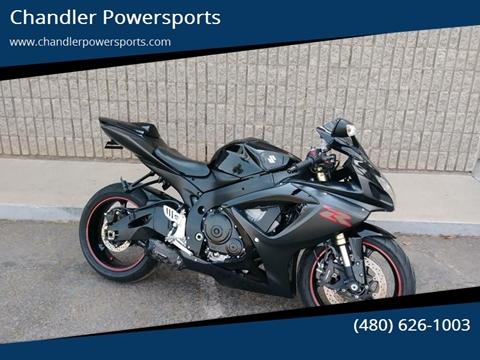 2007 Suzuki GSX-R600 for sale at Chandler Powersports in Chandler AZ