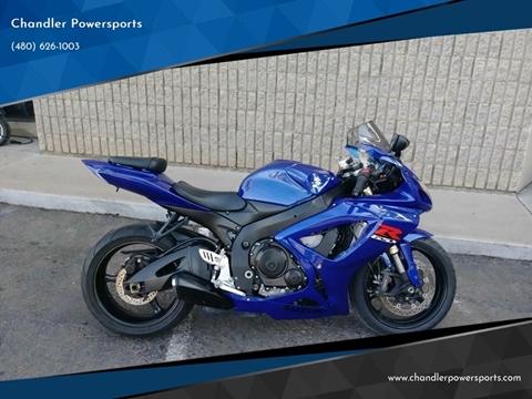 2007 Suzuki GSX-R600 for sale in Chandler, AZ