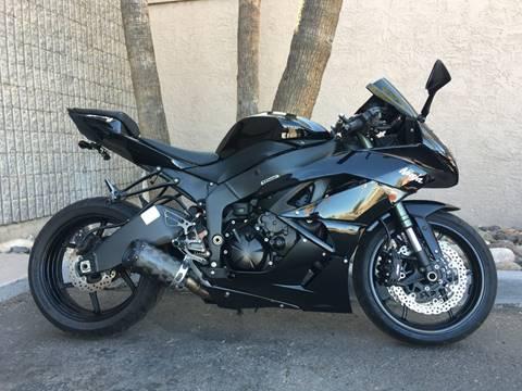 2012 Kawasaki Ninja ZX-6R for sale in Chandler, AZ