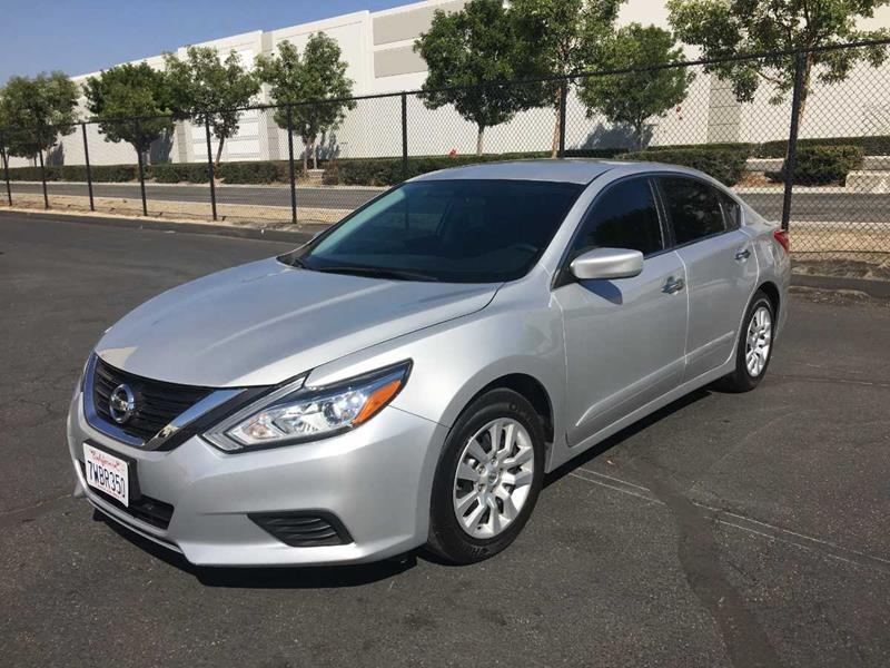 2016 Nissan Altima For Sale At CARLIFORNIA AUTO WHOLESALE In San Bernardino  CA