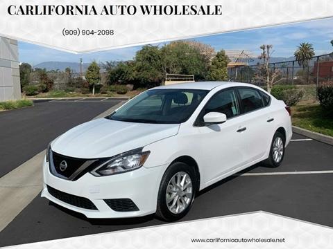 2017 Nissan Sentra S for sale at CARLIFORNIA AUTO WHOLESALE in San Bernardino CA