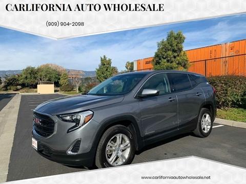 2018 GMC Terrain SLE for sale at CARLIFORNIA AUTO WHOLESALE in San Bernardino CA