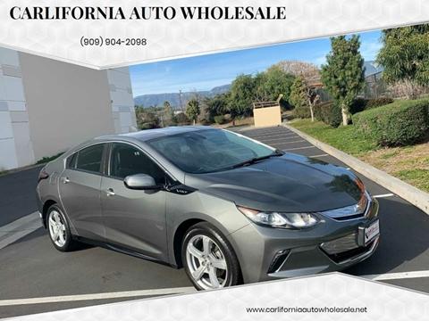 2017 Chevrolet Volt LT for sale at CARLIFORNIA AUTO WHOLESALE in San Bernardino CA